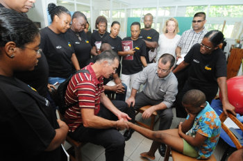 Why give to steps Get Involved Steps Clubfoot Care Southern Africa