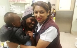 Phumzile Zondi, and her son, Kuhlesibonge, share their clubfoot success story-min